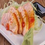 Salmão Flambado ao molho Sweet Sauce Sushi Motto - Barreiro