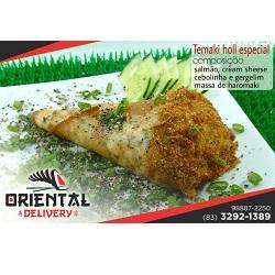 salmão especial Oriental Delivery