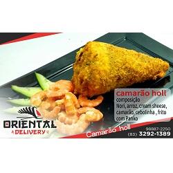 Camarão holl crocante Oriental Delivery