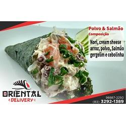 Polvo e salmão Oriental Delivery