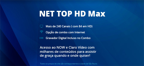 Claro NET Top HD MAX