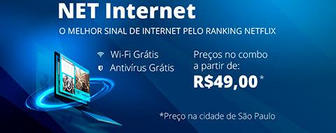 Provedor de Internet NET