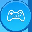 Jogue os melhores títulos com excelentes gráficos e jogabilidade incrível.