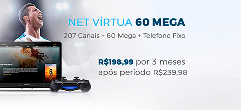 NET internet 60 Mega