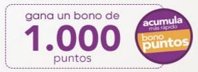 Bono de 1000 Puntos Cencosud