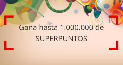Gana Hasta un millón de SuperPuntos