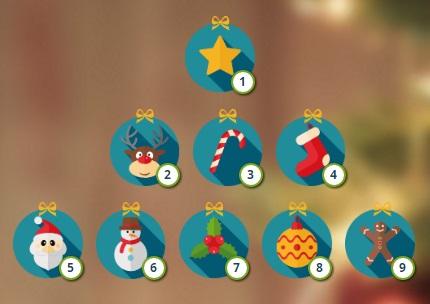 Selecciona tu adorno navideno