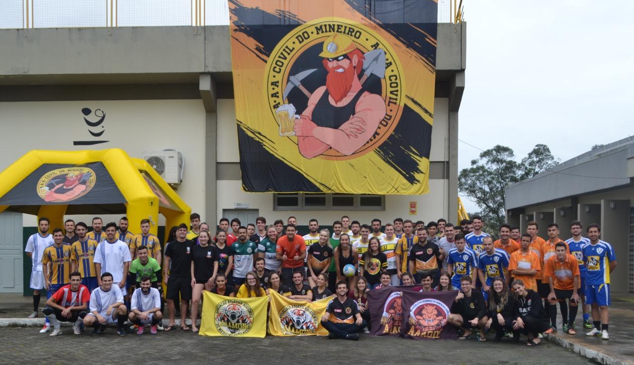 Copa Covil do Mineiro: Mais um sábado de esporte e solidariedade na Faculdade Satc