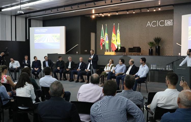 Representantes do Sul buscarão apoio em Brasília para a expansão da malha ferroviária no Estado