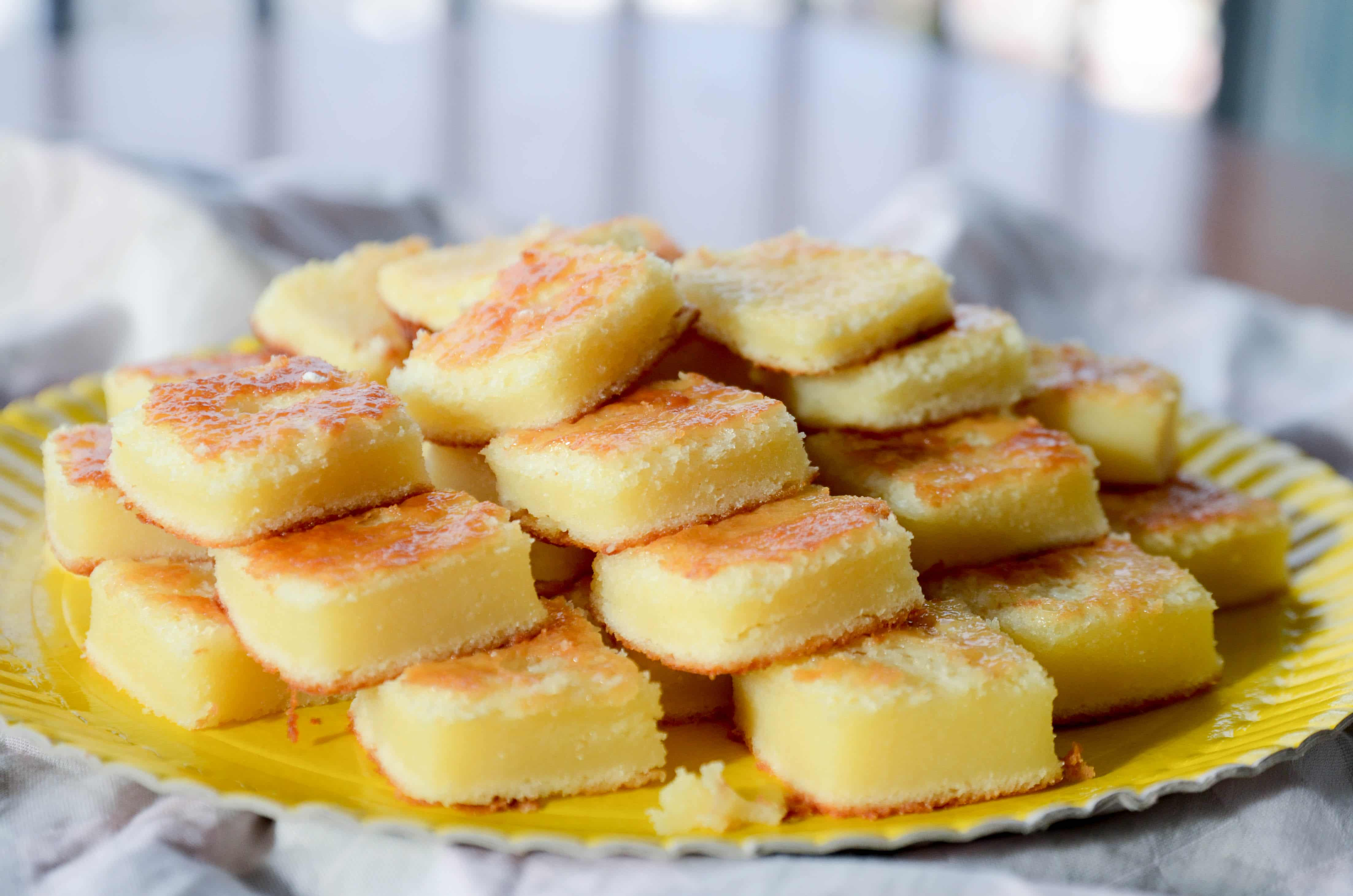 Bolo de queijo é uma receita deliciosa e bem simples de preparar!