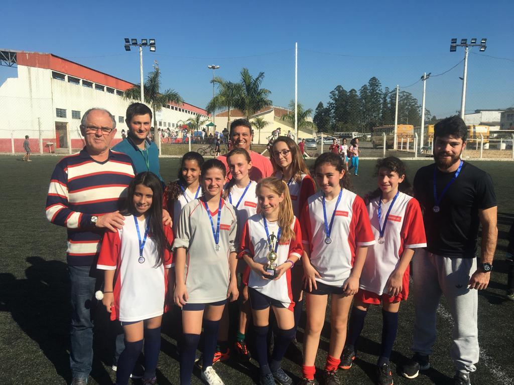 JEVS: escolas Bairro Bortolotto e Humberto Hermes Hoffmann conquistam a etapa de futebol suíço