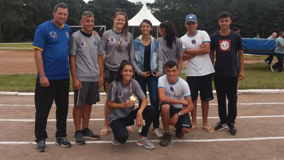 Jesc: Nova Veneza conquista quatro medalhas na competição e garante atleta na Seleção Catarinense