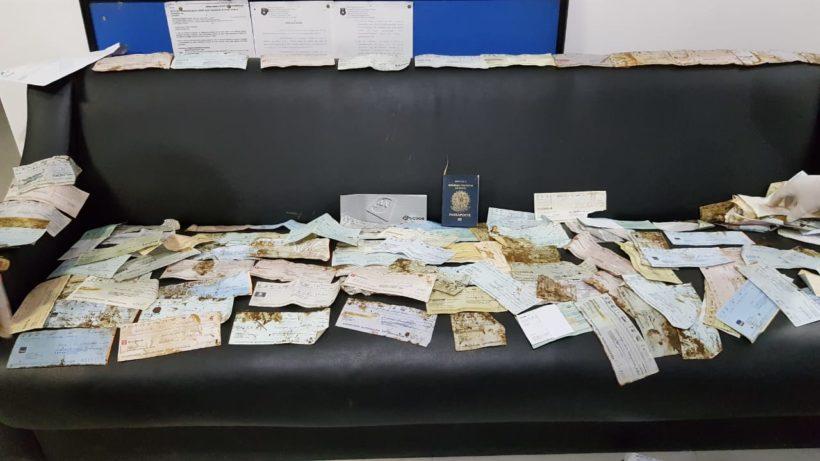 Polícia Civil de Araranguá recupera parte dos cheques furtados de empresa