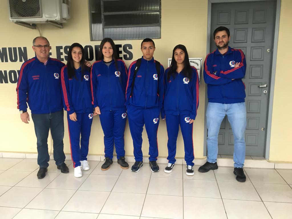 Delegação de Nova Veneza disputa estadual de atletismo neste final de semana