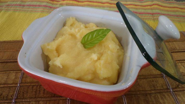 Purê de batata é a receita do dia