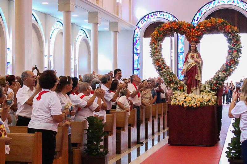 Santuário Diocesanos em festa nos meses de abril e maio
