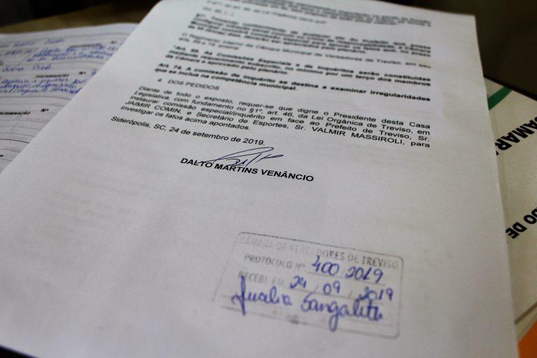 Prefeito e secretário de Esporte de Treviso são denunciados por processo de licitação