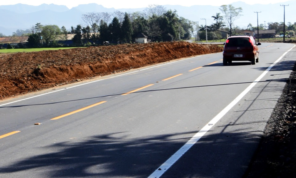 Primeira etapa da pavimentação da Rodovia Vicente Langer será inaugurada neste sábado
