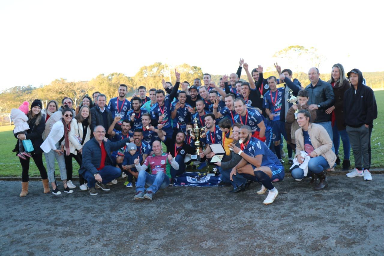 São Bento Alto é campeão do Municipal de Futebol 2019
