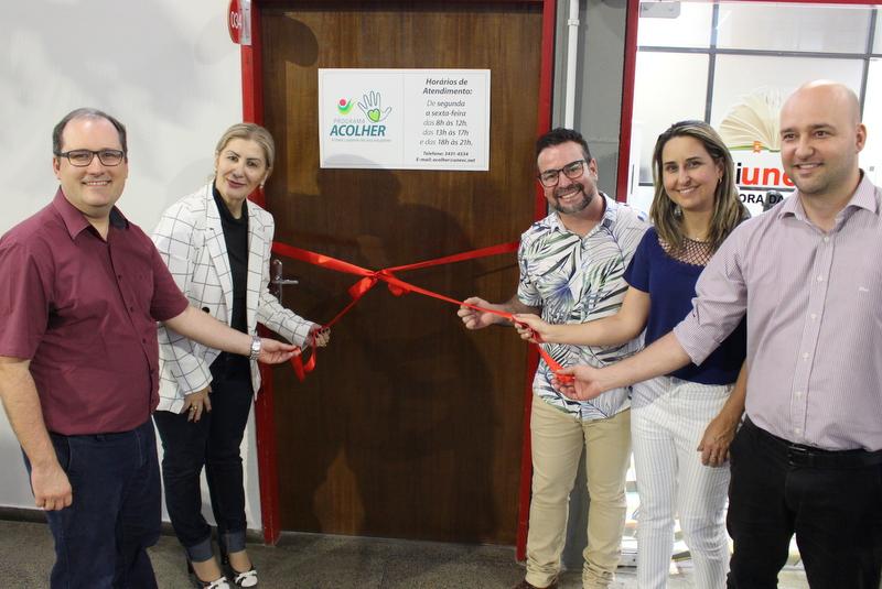 Programa Acolher: Novo espaço para a atenção à saúde mental dos acadêmicos da Unesc