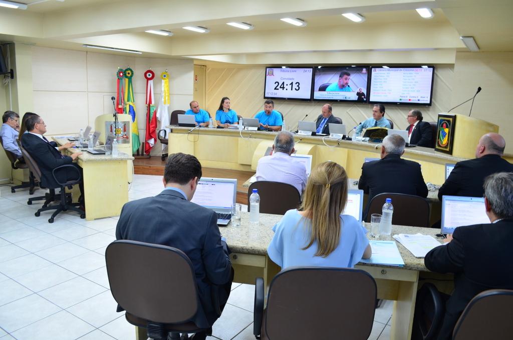 Salvaro encaminha projetos de lei à Câmara de Vereadores de Criciúma