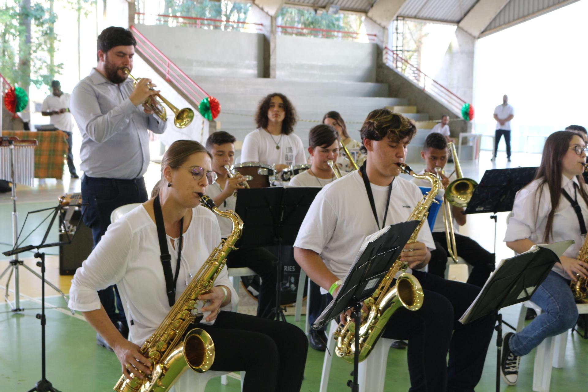 Doze bandas participam do Festival de Bandas de Sopro e Percussão