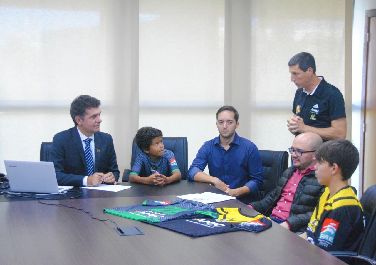 FME retoma parceria com projeto Anjos do Futsal após dez anos