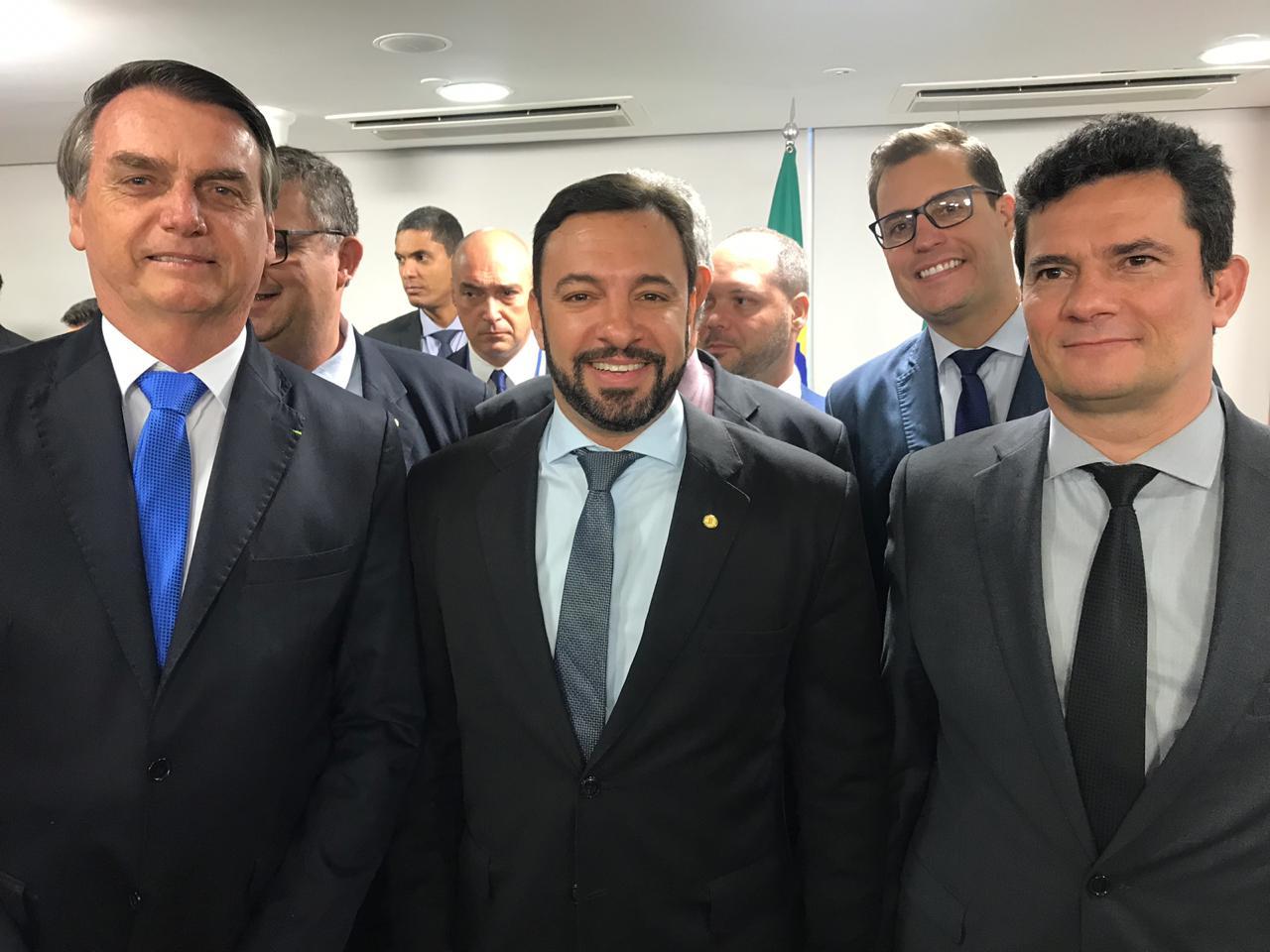 Daniel Freitas participa de reunião para debater proposta de vetos da Lei de Abuso de Autoridade