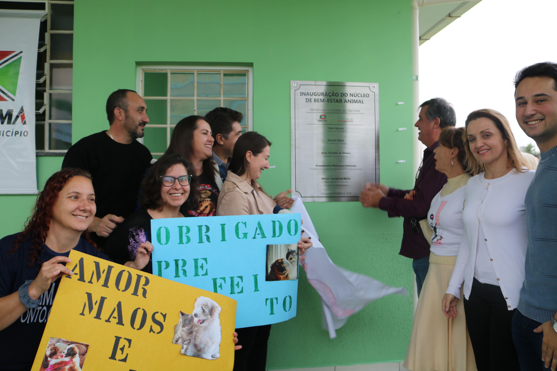 Núcleo de Bem Estar Animal e Espaços Pet são inaugurados em Criciúma