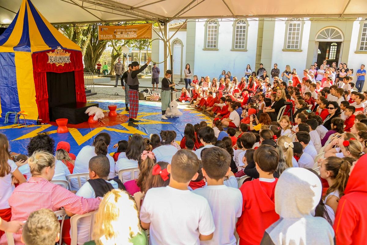 Içara sediará pela terceira vez Festival Nacional de Teatro Revirado