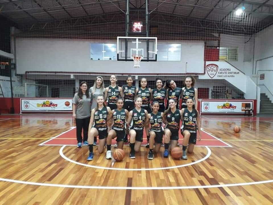 Basquete feminino de Criciúma estreia no Estadual Sub-15