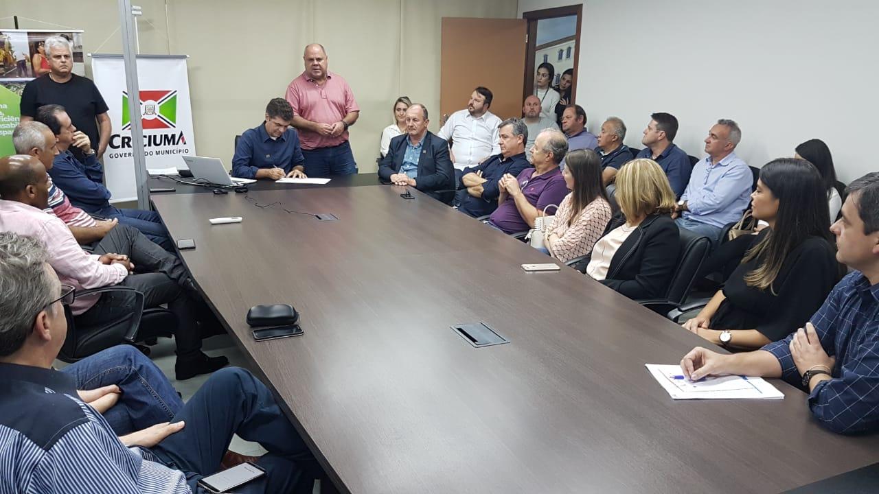 Arleu da Silveira deixa Secretaria Geral da Prefeitura de Criciúma