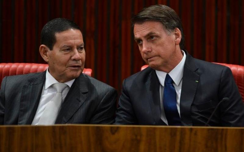 Bolsonaro e Mourão são esperados em Santa Catarina na próxima semana