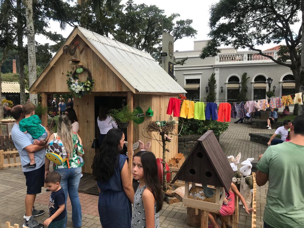 'Fazenda Dolce Páscoa' abre programação de páscoa em Nova Veneza