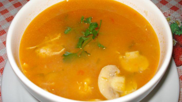 Sopa de mandioca é a receita do dia