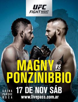 UFC ON FANTASY 78 - PEGETTO X CREMILDO - 17/11, 22:00 043996_ARG_OnSaleSpanish_270x350