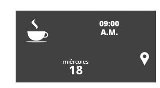desayuno el martes 10 nov. 09:00 hrs.