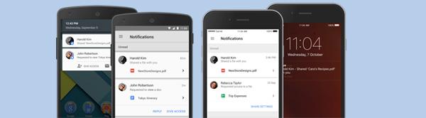 compartir atchivos desde la app de google drive