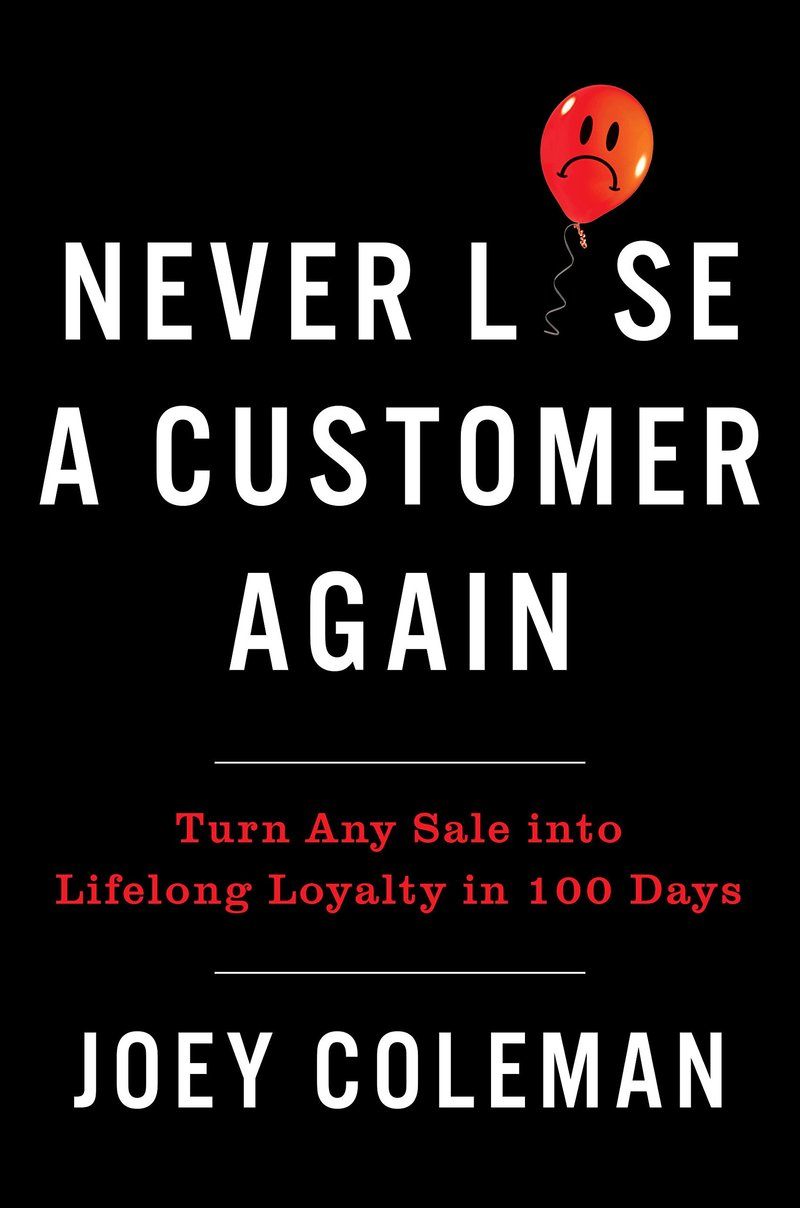 Livro never lose a customer again