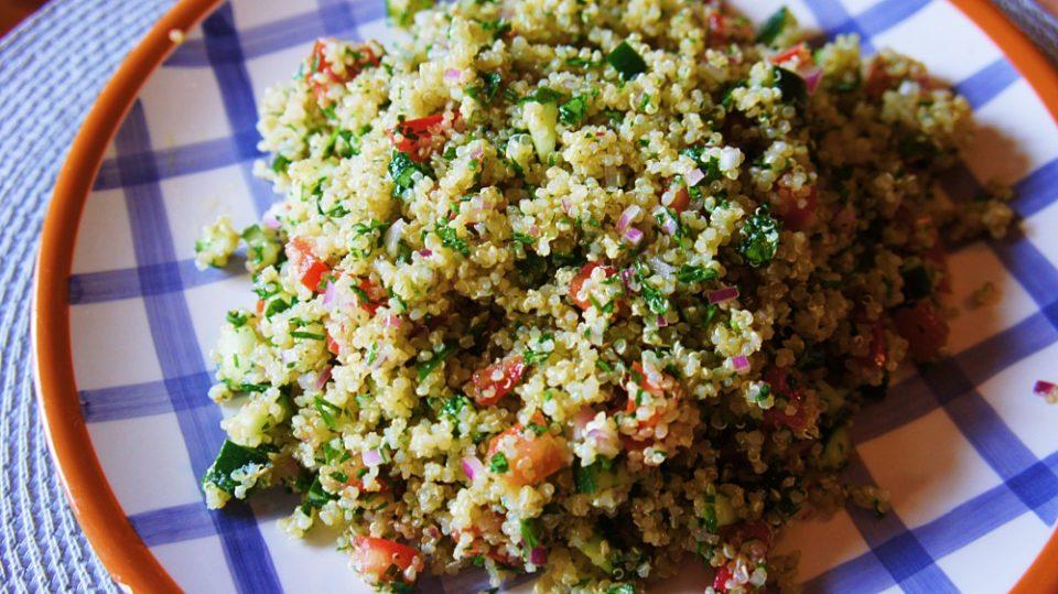 Receita de Tabule de Quinoa