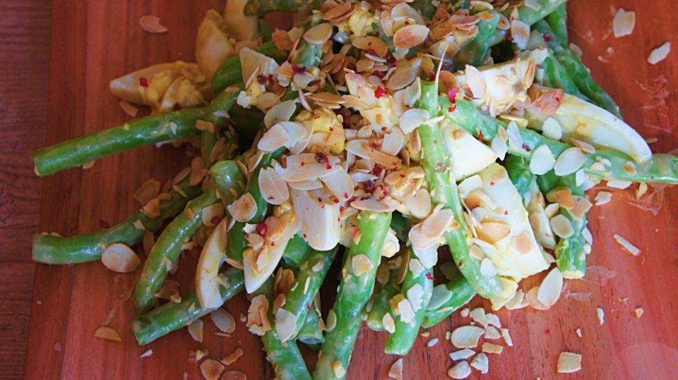 Receita de Salada de Vagem e Ovo Cozido