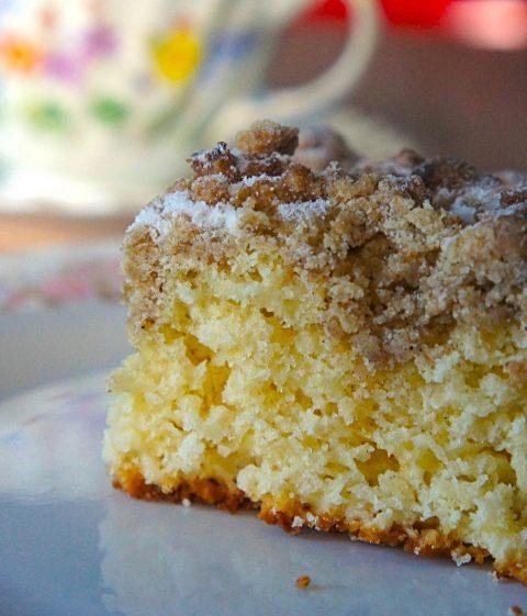 Receita de New York Crumble Cake da Martha Srewart