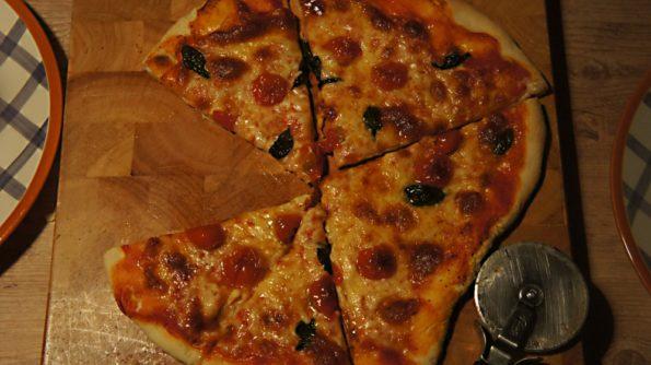 Receta de Pizza Marguerita