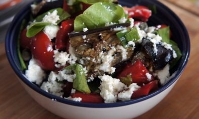 Receita de Salada de Berinjela