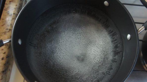 bicarbonato e água pão pretzel
