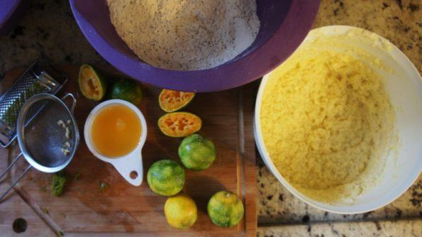 Receita de limão com Semente de Papoula