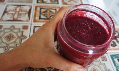 Receita de Suco de Beterraba Desintoxicante com Frutas e Farinha de Linhaça