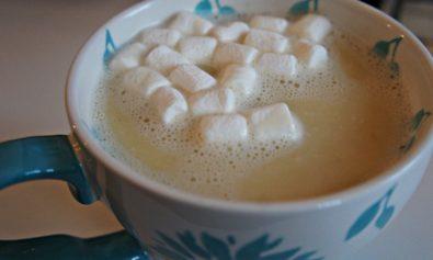 Receita de Chocolate Quente de Chocolate Branco