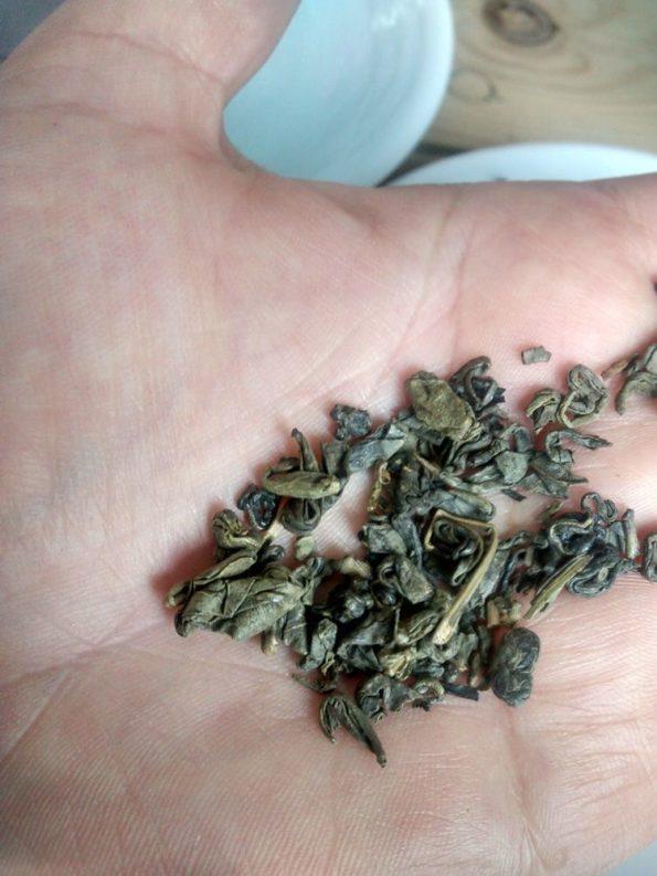 o gunpowder tea ou chá polvora