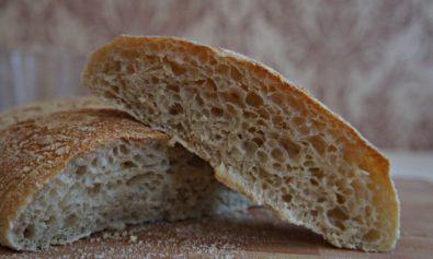 Receita de Pão Ciabatta 2